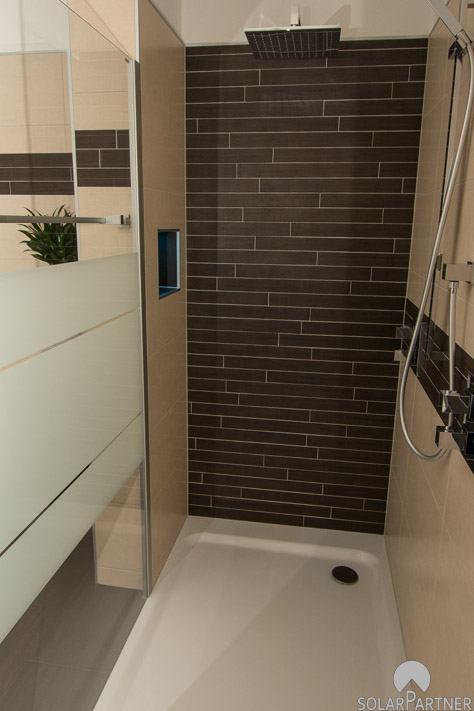 Walk-in-Dusche für das perfekte Duschvergnügen zu zweit!